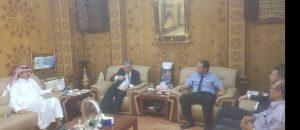 شركة الجوف العقارية تعقد اجتماعات مع شركة كارفور السعودية